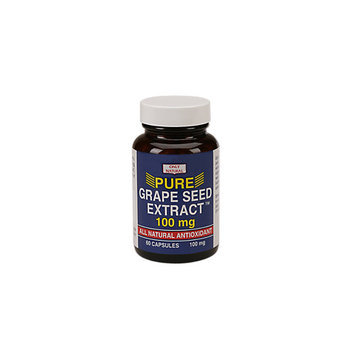 Only Natural Grape Seed Extract 100 MG - 60 Capsules - Grape Seed Extract