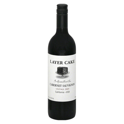 Layer Cake California 2009 Cabernet Sauvignon Wine