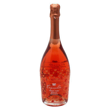 Kobrand Caposaldo Sweet Pink Merlot Moscato Wine 750 ml