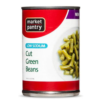 Market Pantry Low Sodium Green Bean 14.5 oz