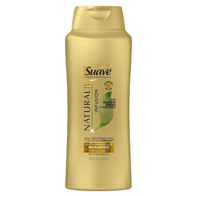 Suave Professionals Natural Infusion Awapuhi Ginger & Honeysuckle Shampoo 28 oz