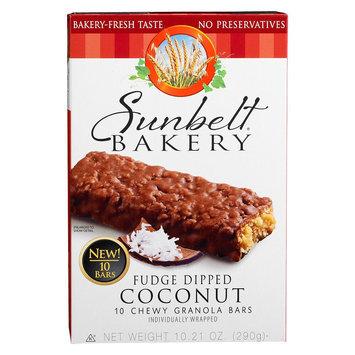 Mckee Foods Sunbelt Bakery Fudge Dipped Coconut Granola Bars 10 ct