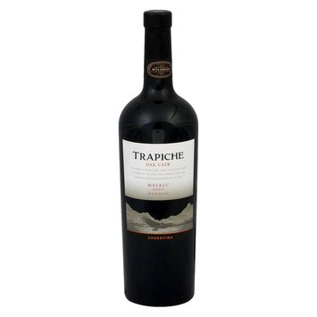 Trapiche Oak Cask Mednoza Argentina 2007 Malbec Wine 750 ml