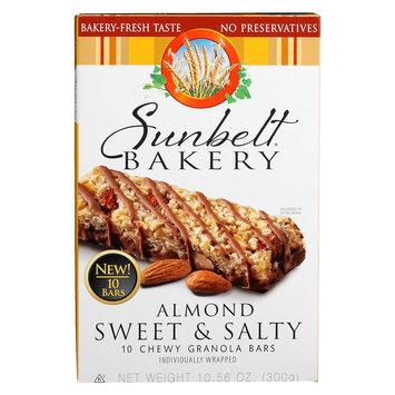 Mckee Foods Sunbelt Bakery Almond Sweet & Salty Granola Bars 10 ct