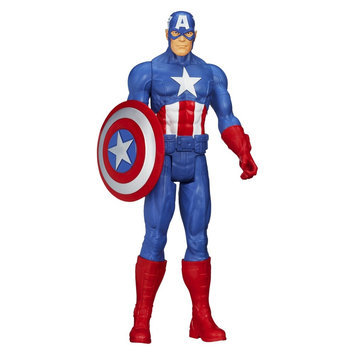 License Marvel Avengers Titan Hero Series Captain America action figure