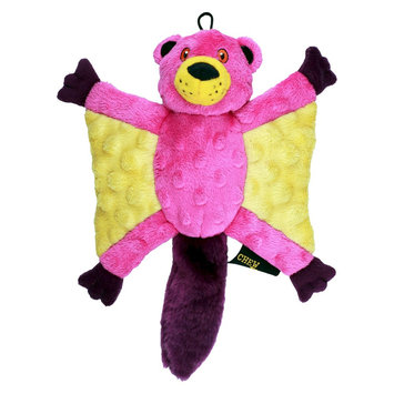 Quaker Pet Group Chew Tuff Flying Squirrel Dog Toy - Assorted Colors (Large)