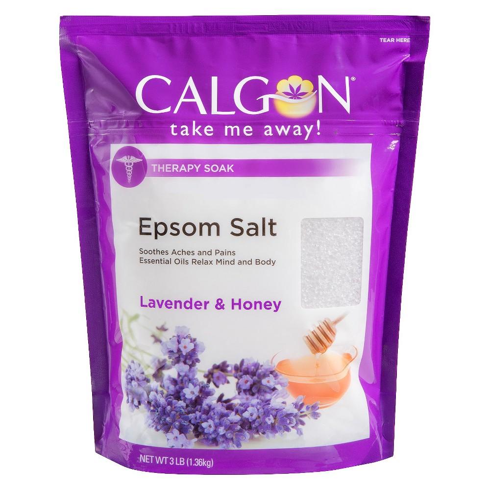 Calgon Rejuvenating Epsom Salts, Lavender Vanilla, 3 lbs.