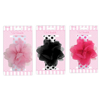 So Dorable Toddler Girls' Flower Headwrap - Pink