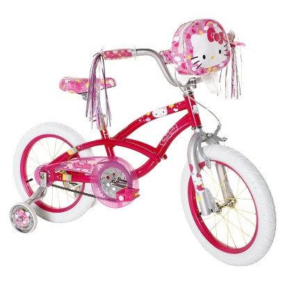 "Magna Girl's Hello Kitty Bike - Pink (16"")"