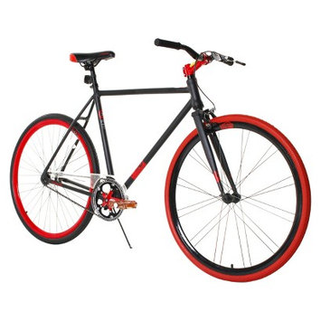 Magna Fix-D 700C Road Bike - Black/Red (28
