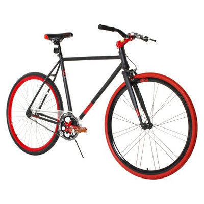 Magna Fix-D 700C Road Bike - Black/Red (28