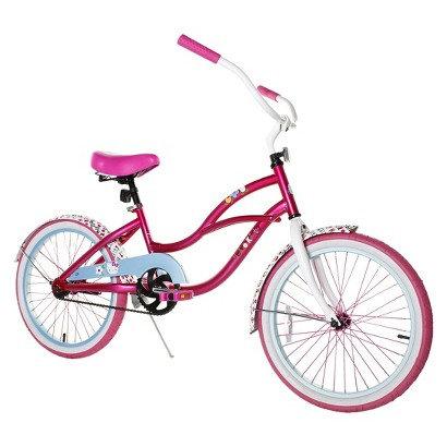 "Magna Girl's Hello Kitty Cruiser Bike - Pink (20"")"