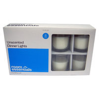 Room Essentials White Unscented Votive Candle