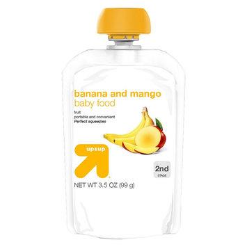 up & up Baby Food - Banana and Mango - 3.2 oz