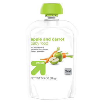up & up Baby Food - Apple Carrot - 3.5 oz