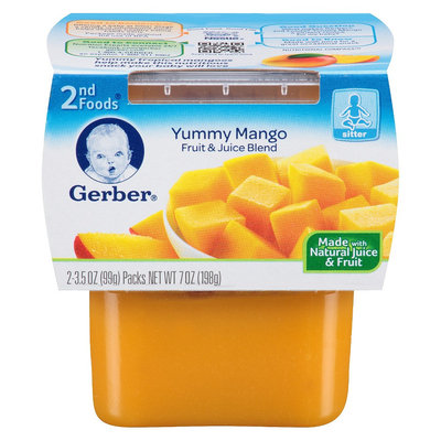 Gerber 2nd Foods Mango 7 oz 2 pk