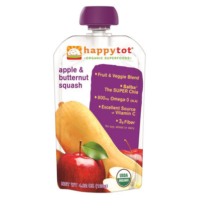 Happy Tot Apple & Butternut Squash Organic Superfoods - 4.22 oz