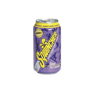 Sqwincher Energy Drinks Can Drink, Grape, 12 Oz, 1 Case