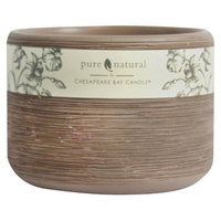 Pacific Trade Pure and Natural TERRACOTTA Filled Candle Sm