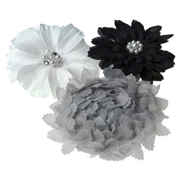 Gimme Couture: Stunning Light, White/Black/Purple, 3 ea