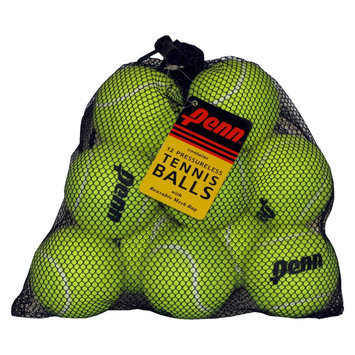 Penn Pressureless Bag of 12: Penn Tennis Balls