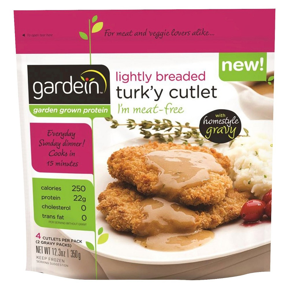 Gardein Protein International Gardein Lightly Breaded Turk'y Cutlets 4 ct