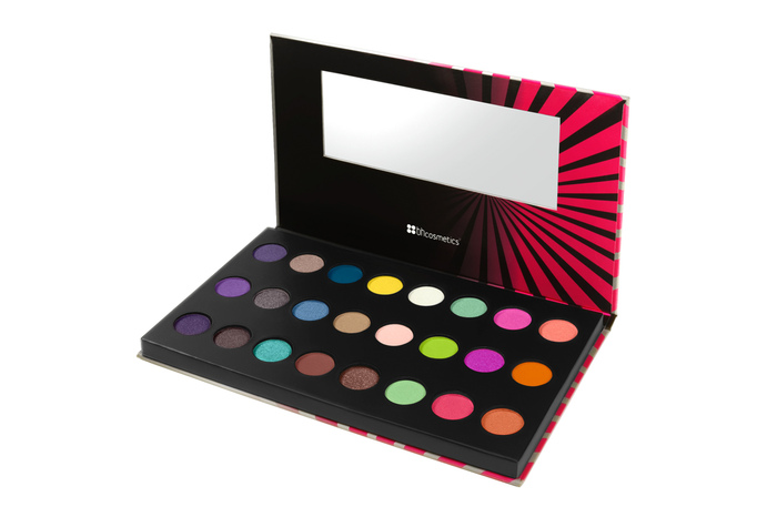 BH Cosmetics Pop Art Color Extreme - 24 Color Pressed Pigment Palette