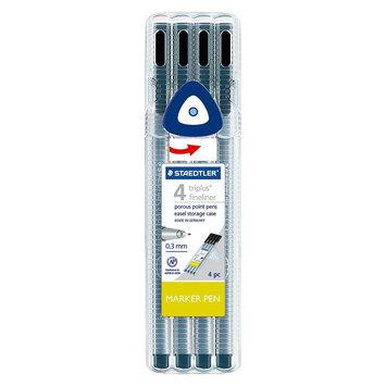 Staedtler Pen Set 4 Ea Fine