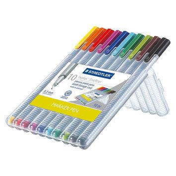 Staedtler Pen Set 10 Ea Fine