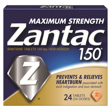 Zantac 150 Maximum Strength Acid Reducer - 24 Count