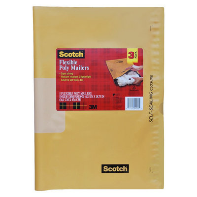 Scotch Self-Sealing Mailer 3-ct. 14.25in x 18.75in