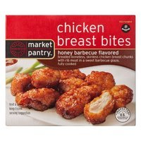 Market Pantry Honey Barbecue Chicken Breast Bites 10 oz