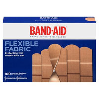 Band-Aid Flexible Fabric - 100 Count