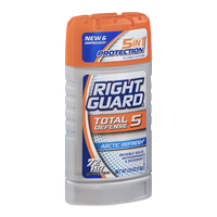 Right Guard Total Defense 5 Antiperspirant & Deodorant Solid Arctic Refresh