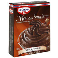 Dr. Oetker Milk Chocolate Mousse Mix