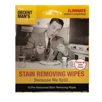 The Decent Man's Grooming Tools Stain Removing Wipes