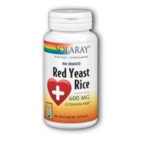 Solaray Red Yeast Rice 600mg - 90 Capsules