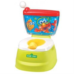 Kolcraft SN006-SED1 Sesame Street Elmo Adventure Potty Chair
