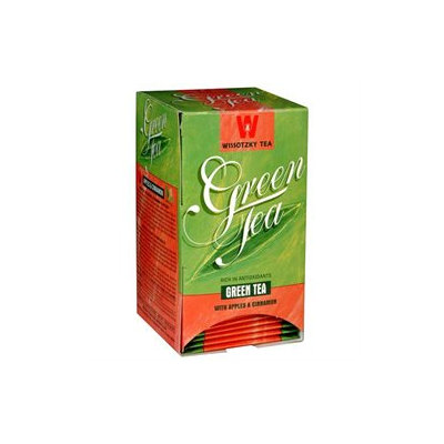 Wissotzky Tea Green tea with Apple & Cinnamon