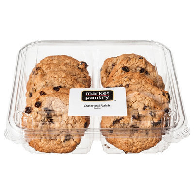 Market Pantry Oatmeal Raisin Cookies 10 Count