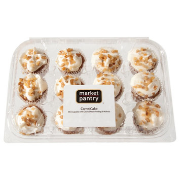 Market Pantry Carrot Cake Cupcakes 12 Count
