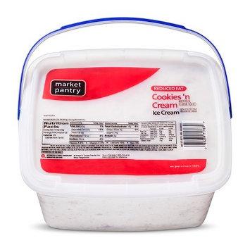 Market Pantry Cookies & Cream Ice Cream 144 oz