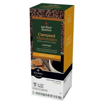 Mother Parkers Tea & Coffee Inc. Light Roast Caramel Macchiato Single Cups 3ct - Archer Farms
