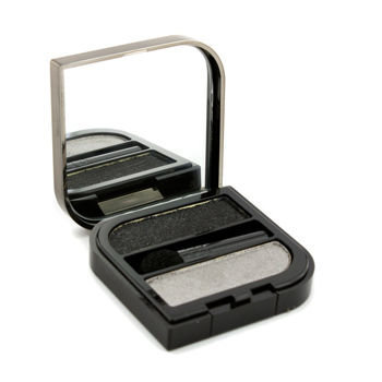 Helena Rubinstein Wanted Eyes Color Duo - No. 56 Charming Silver & Fatal Black 2x1.3g/0.04oz