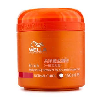 Wella - Enrich Moisturizing Treatment for Dry and Damaged Hair (Normal/Thick) 150ml/5oz