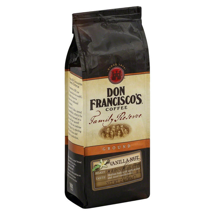 Don Francisco's Family Reserve Vanilla Nut Ground Coffee 12 oz