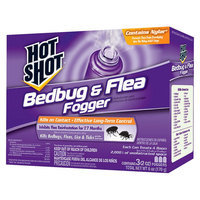 Hot Shot Bedbug & Flea Foggers 3 Pack