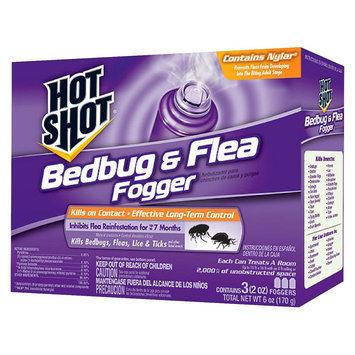 Hot Shot Bedbug & Flea Foggers 3 Pack