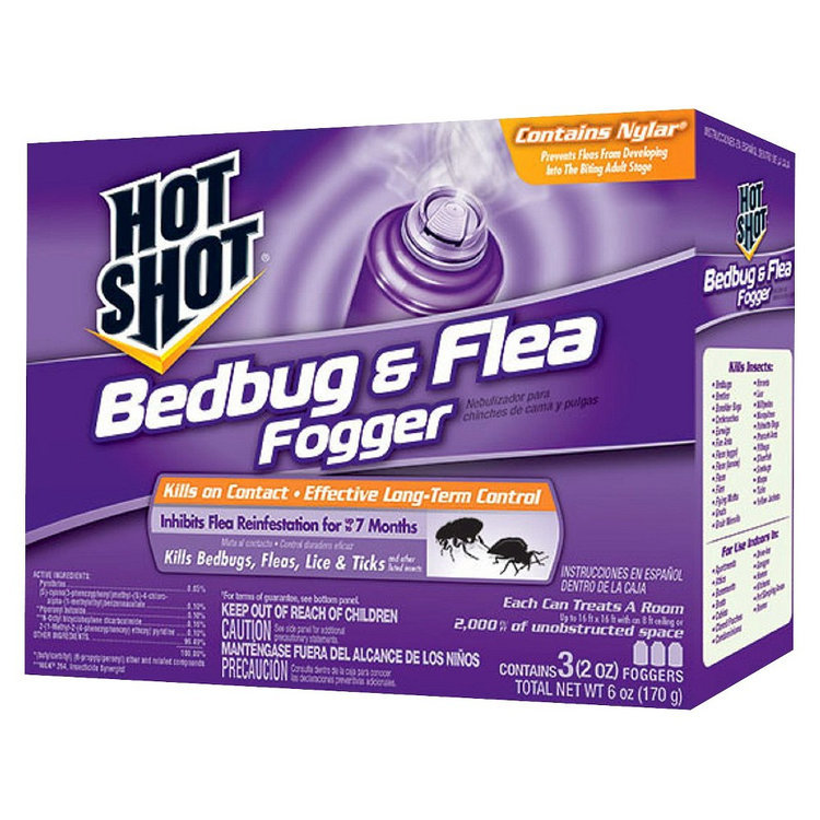 Free 2-day shipping on qualified orders over $ Buy Hot Shot Bedbug and Flea Fogger Insecticide, 3-Count, 6-Ounce at abegsuble.cf