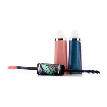 Benefit Cosmetics Prrrowl Iridescent Mascara Topcoat & Shimmering Lip Gloss